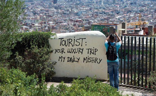 Denunciarán judicialmente los ataques turismofóbicos en España