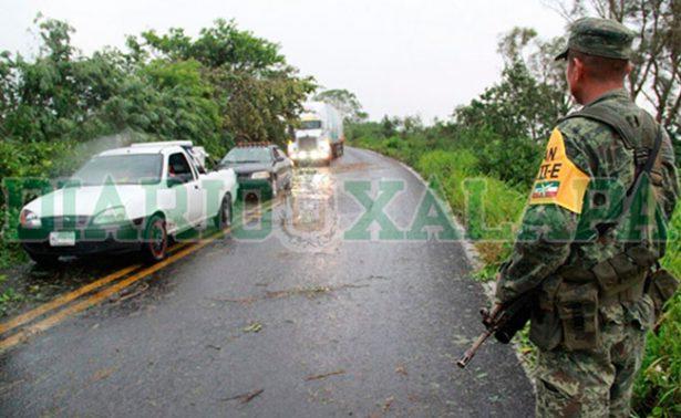 Franklin azota Puebla y Veracruz, activan Plan DN-III-E