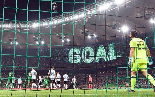 Argentina sufrió un duro e inesperado golpe