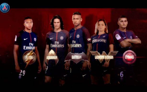 Neymar, Cavani y Mbappé son los nuevos superhéroes de la Liga de la Justicia