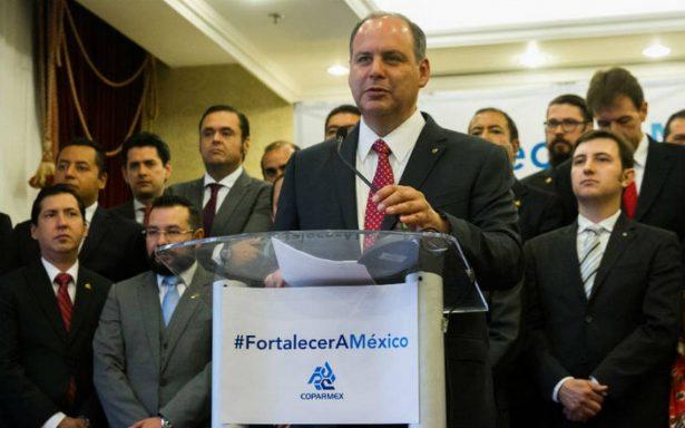 Deplora Coparmex afirmaciones de AMLO sobre obligar a empleados a votar por Anaya
