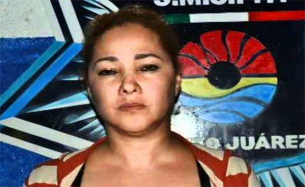 """Cae """"Doña Lety"""", presunta responsable de la violencia en Cancún"""