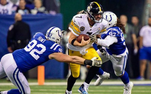 Steelers consigue victoria agónica contra Colts
