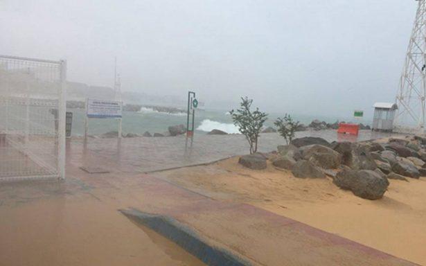 Activan alerta naranja en Los Cabos ante tormenta tropical Bud