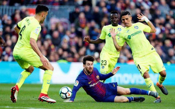 """El Getafe se pone """"gallo"""" y le saca un importante empate al Barça"""