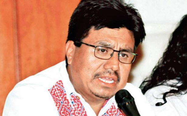 Respeto a derechos indígenas, es la paz: Adulfo Regino Montés
