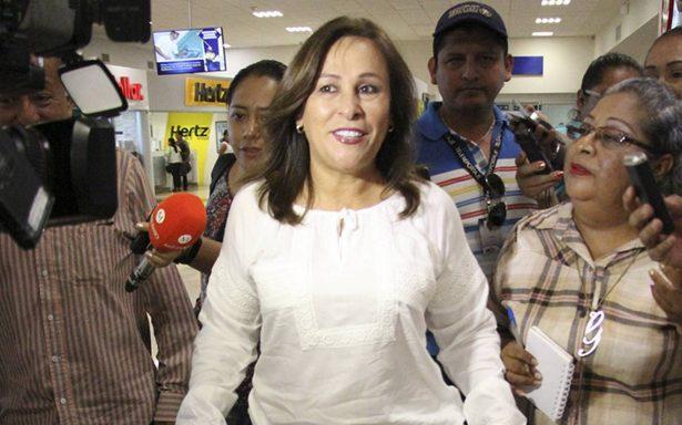 Rocío Nahle llega a Tabasco para evaluar construcción de nueva refinería