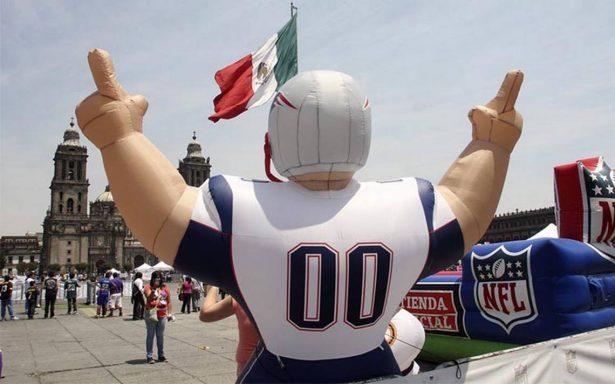 Lista la Ciudad de México para albergar un fin de semana al estilo NFL