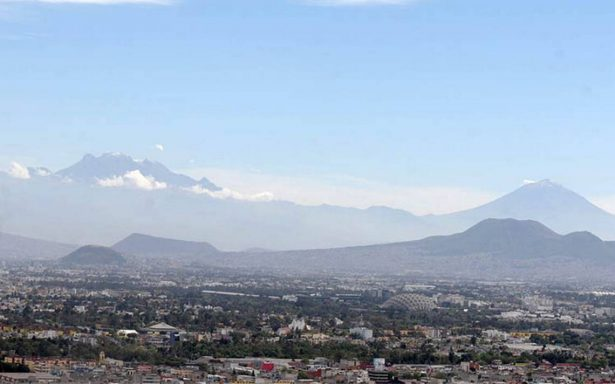 Esta mañana, condiciones ambientales aceptables para el Valle de México