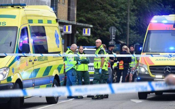 Tiroteo en el centro de Malmo, Suecia; varias personas habrían resultado heridas