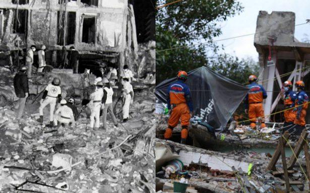 19 de septiembre, el fatídico día en el que los sismos hicieron temblar a México