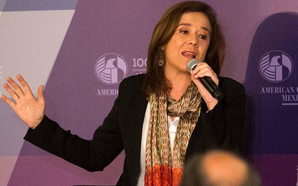 Trabajaré por el México que todos quieren: Margarita Zavala