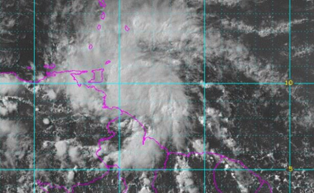 """Tormenta tropical """"Bret"""" llega a costas de Venezuela"""