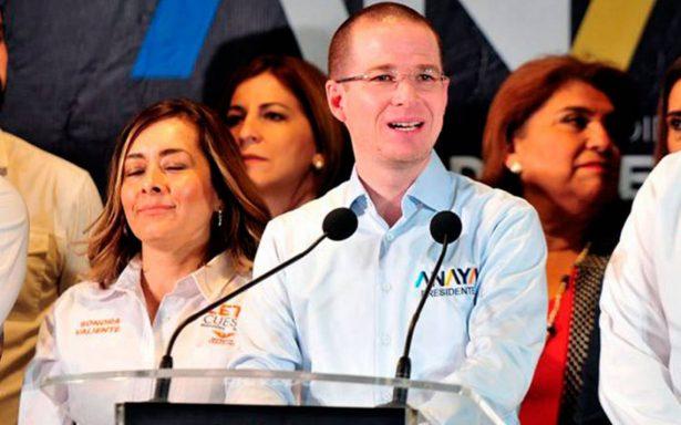 Ricardo Anaya pide unir fuerzas a simpatizantes de Margarita Zavala