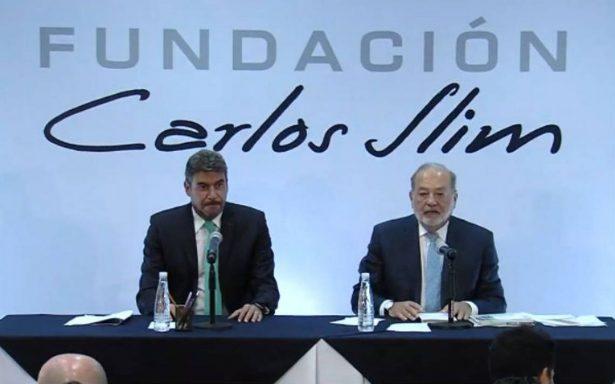 [En vivo] Carlos Slim defiende la construcción del NAIM