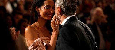 Amal conmueve hasta las lágrimas a George Clooney con este discurso