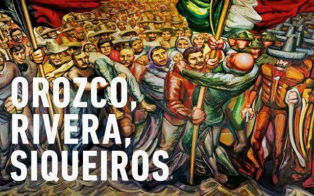 Tres grandes muralistas mexicanos visitan Europa