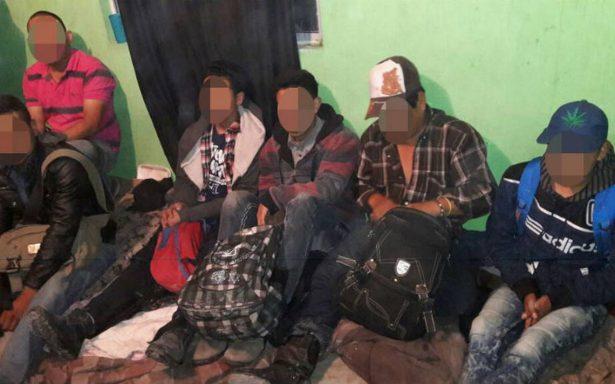 Rescatan a 44 migrantes olvidados en una casa en Matamoros
