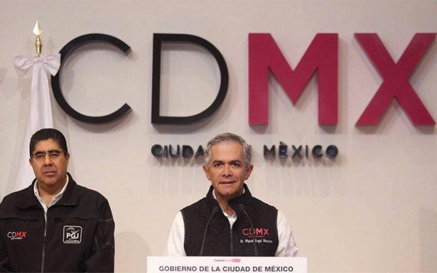 Con nuevo formato, Mancera alista plataforma para reconstrucción de la CDMX
