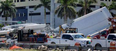 Universidad de Miami reanuda clases tras el derrumbe de un puente peatonal
