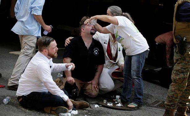Asciende a tres número de muertos por manifestación de ultraderecha en Virginia