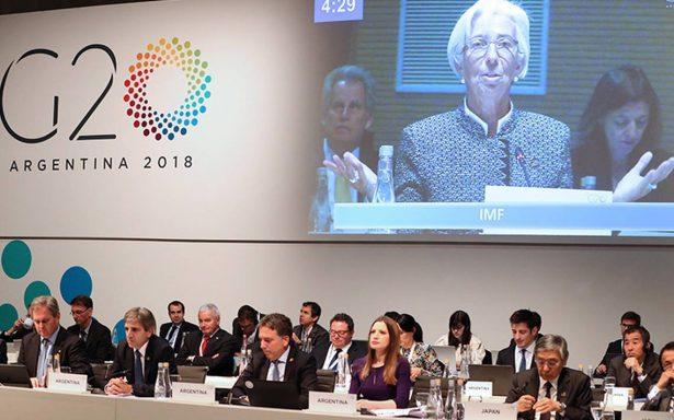 En G20, FMI advierte duro golpe a crecimiento por guerra comercial de EU