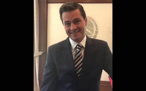 """""""Suegro de México, bizcocho"""", Peña Nieto responde a estos piropos en Instagram"""
