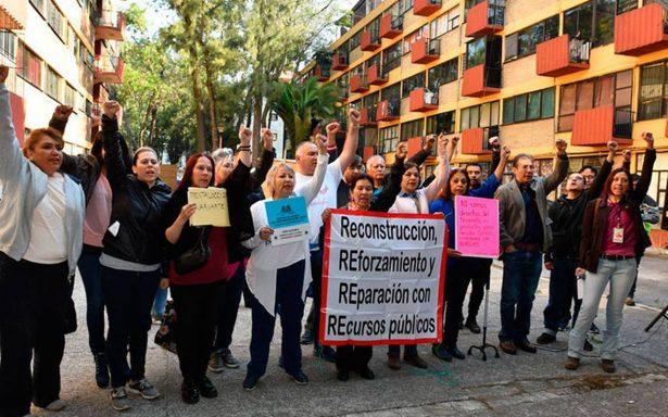 A 7 meses del sismo, damnificados de Tlalpan protestarán ante la Secretaría de Finanzas