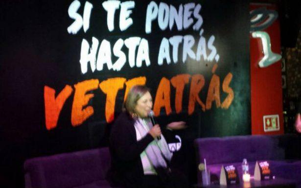 """Miguel Hidalgo lanza campaña """"Si te pones hasta atrás, vete atrás"""""""