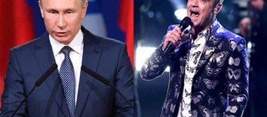 ¿Robbie Williams vendió su alma a Vladimir Putin para cantar en el mundial?