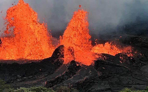 Volcán Kilauea vuelve a erupcionar y pone en riesgo energía eléctrica en Hawái