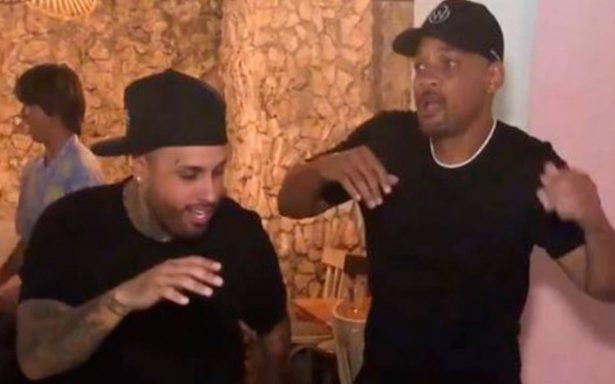 """Will Smith baila con Nicky Jam el """"X Challenge"""" y enloquecen a sus fans"""