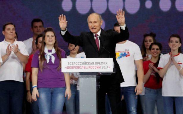 Putin busca su reelección para cuarto mandato