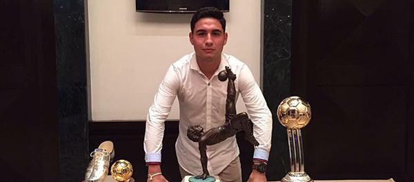 José Coronel es campeón de goleo