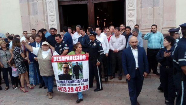 Entre manifestaciones, misa y un desayunó los agentes de la Policía Municipal celebraron su día