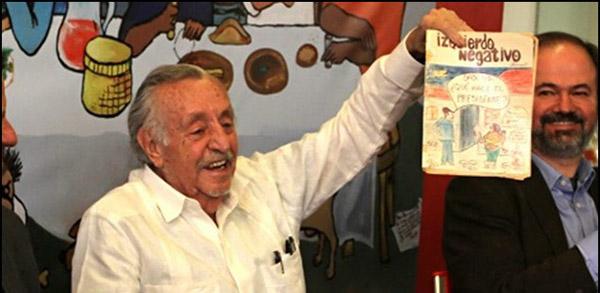 México perdió a su mejor caricaturista de medio siglo a la fecha: Helio Flores