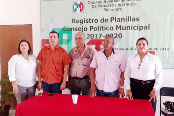Inicia el PRI registro para renovar Consejos Políticos Muncipales