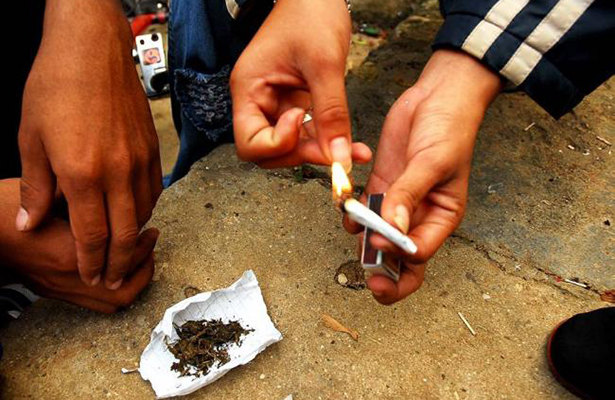 Alarmante incremento de consumo de drogas entre jóvenes