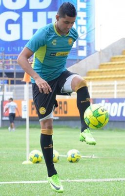 González quiere seguir ganando juegos