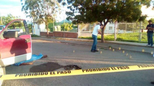 Ejecutan  a vecino de Badiraguato con ráfagas de rifle R-15