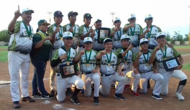 Liga Humaya regresó con el campeonato