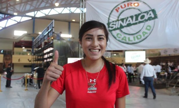 Itzel Manjarrez, abanderada para la Universiada Mundial