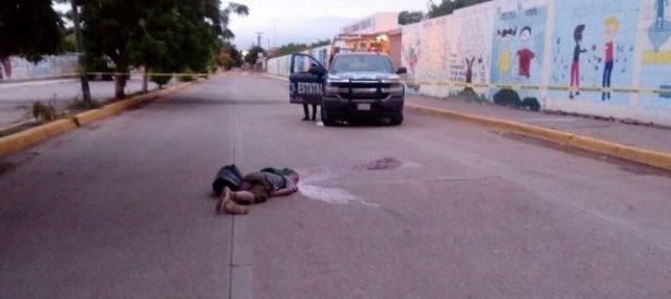 Matan a un joven en  el bulevar principal de Villa Juárez-Navolato