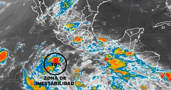 Se forma nuevo ciclón frente a Michoacán
