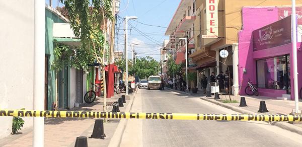 Atentado en pleno centro de culiacán deja un muerto y un herido