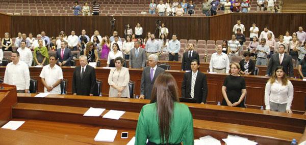 Emotivo homenaje en el Congreso a Yudit del Rincón