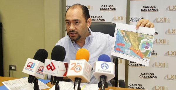 En Sinaloa no se aplica la Ley de Protección Civil en materia de sismos