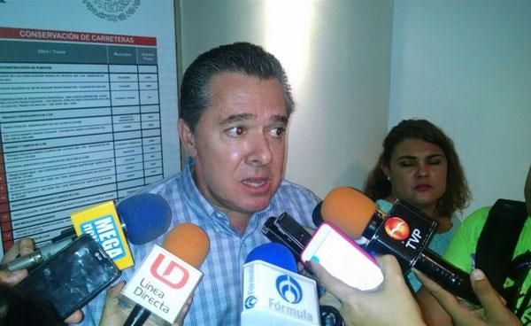 Invertidos 7,560 mdp vía SCT en Sinaloa: García Fox