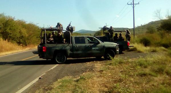 Matan a un militar en Badiraguato