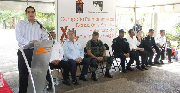 Inician nueva fase de Campaña de Donación y Registro de Armas de Fuego